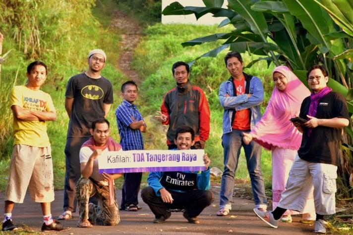 Camp Pengurus TDA Tangerang Raya 4.0